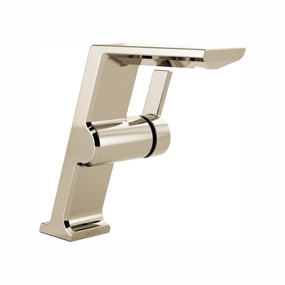 Delta Pivotal Mid Height Single Hole Single Handle Bathroom Faucet