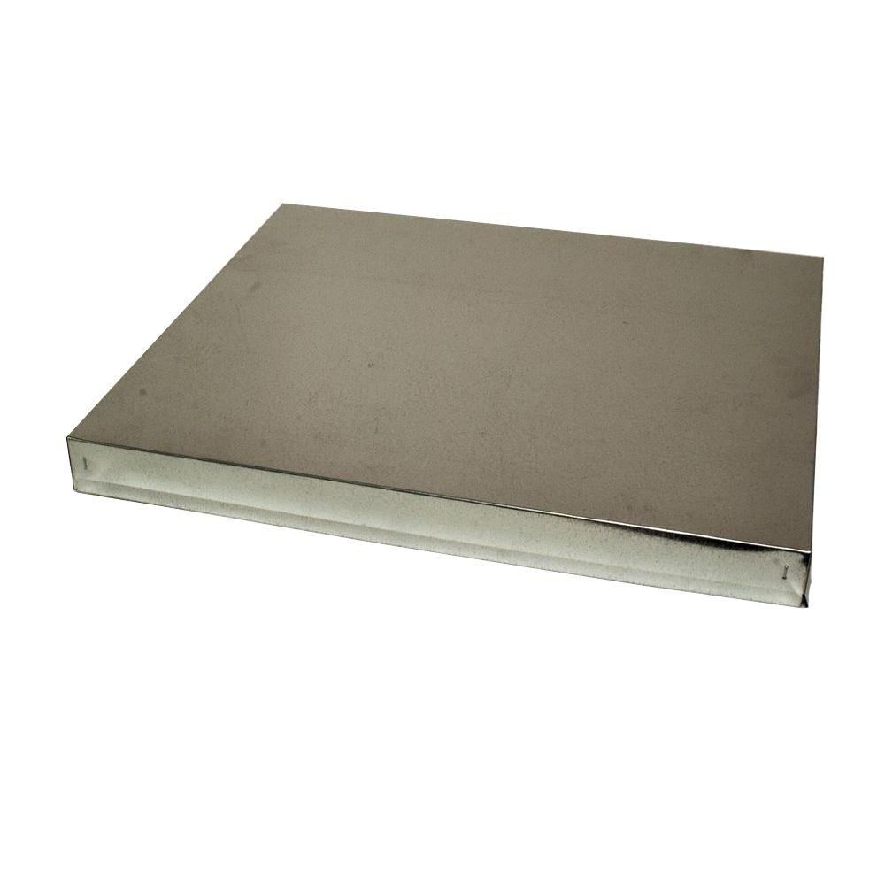 18.5 in. x 22.5 in. x 2 in. Flat Metal Top