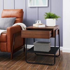 Outstanding Southern Enterprises Duni Black Tall Storage Accent Table Pdpeps Interior Chair Design Pdpepsorg