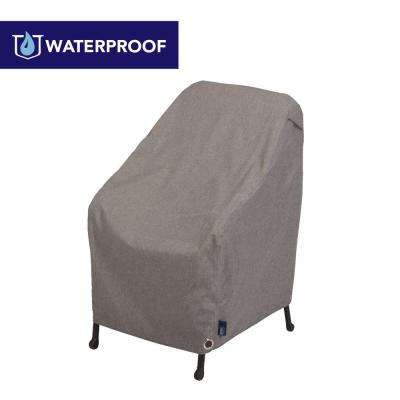 Garrison Waterproof Outdoor Patio Chair Cover, 27 in. W x 34 in. D x 31 in. H, Heather Gray