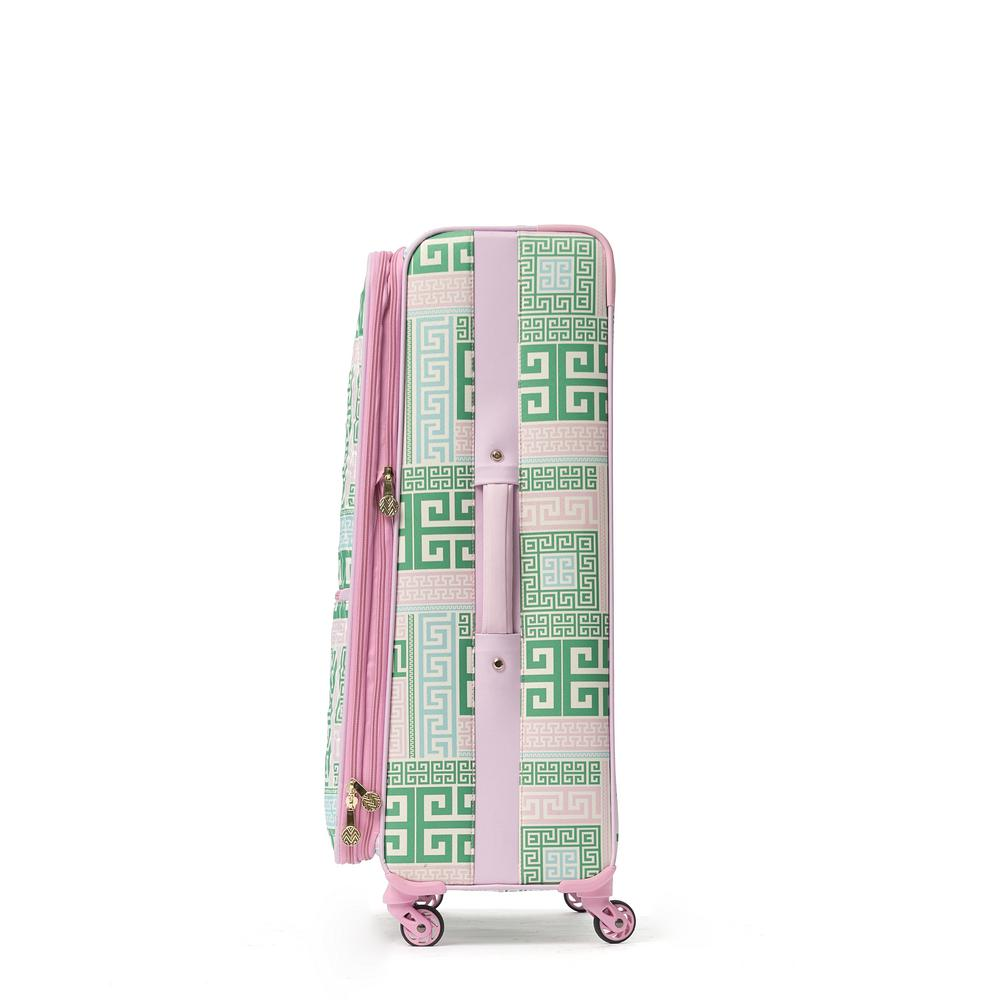 21 in. Upright Poly-Carbonate Plastic Spinner Rolling Luggage Suitcase
