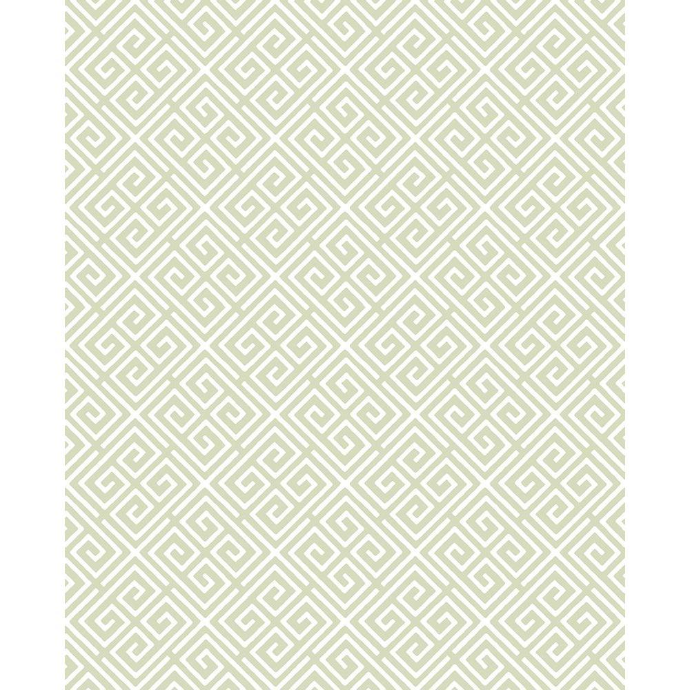 A-Street Omega Green Geometric Wallpaper 2625-21864