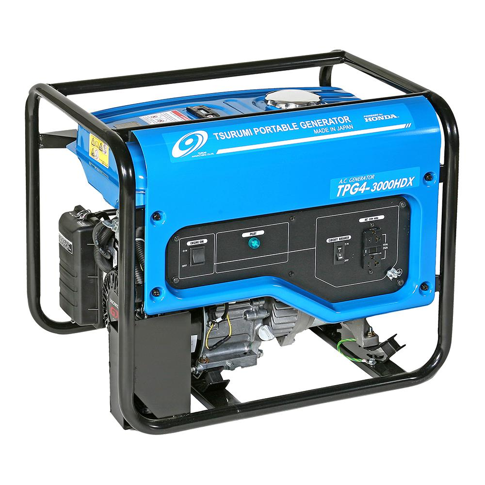 2,200 Watt Gasoline Powered Portable Blue Generator with GFCI outlet Protection