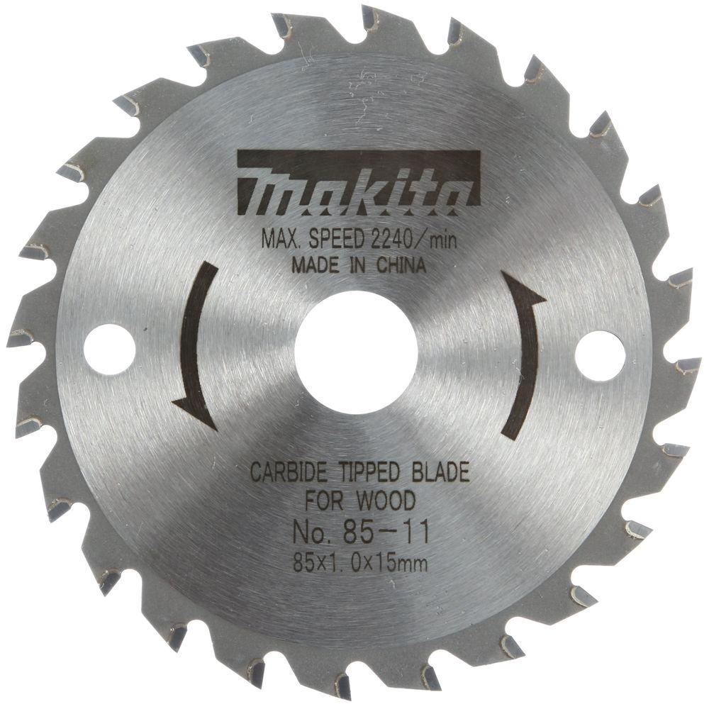 Makita 3 3 8 In 24 Teeth Carbide Tipped General Purpose