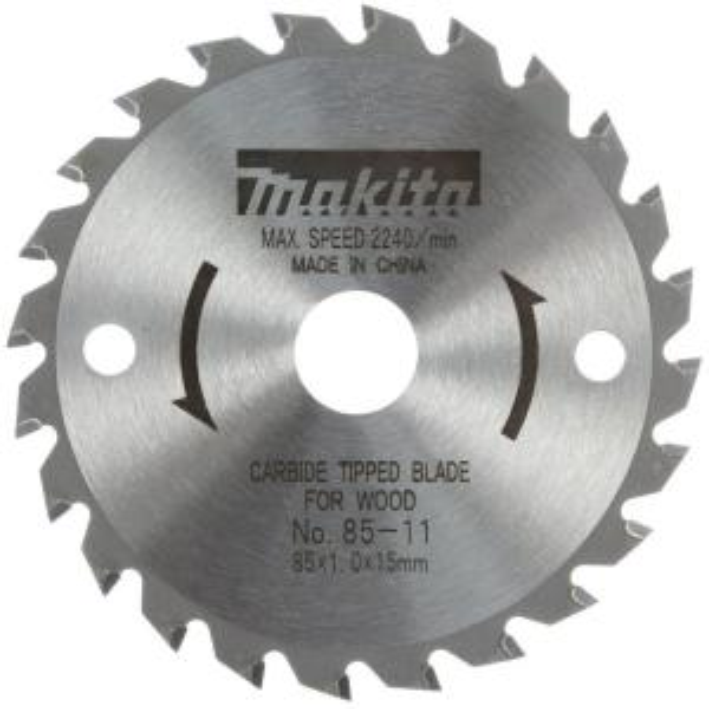 Makita 3-3/8 inch 24-Teeth Carbide-Tipped General Purpose Circular Saw Blade by Makita