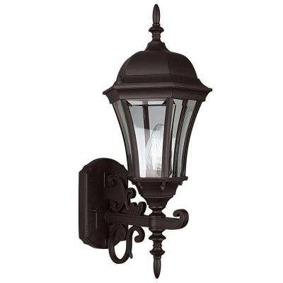 Kernan 1-Light Oil-Rubbed Bronze Outdoor Wall Lantern