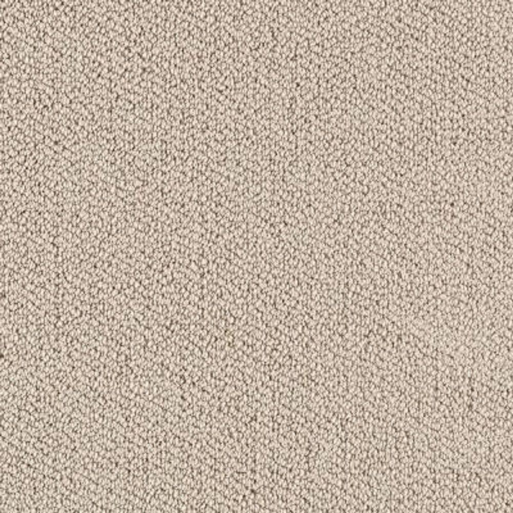 LifeProof Carpet Sample - Lower Treasure - Color Plaza Buff Loop 8 in. x 8 in.