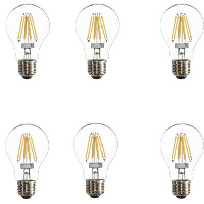 Varaluz 25W Equivalent Warm White A19 Dimmable LED Light Bulbs (6-Pack)