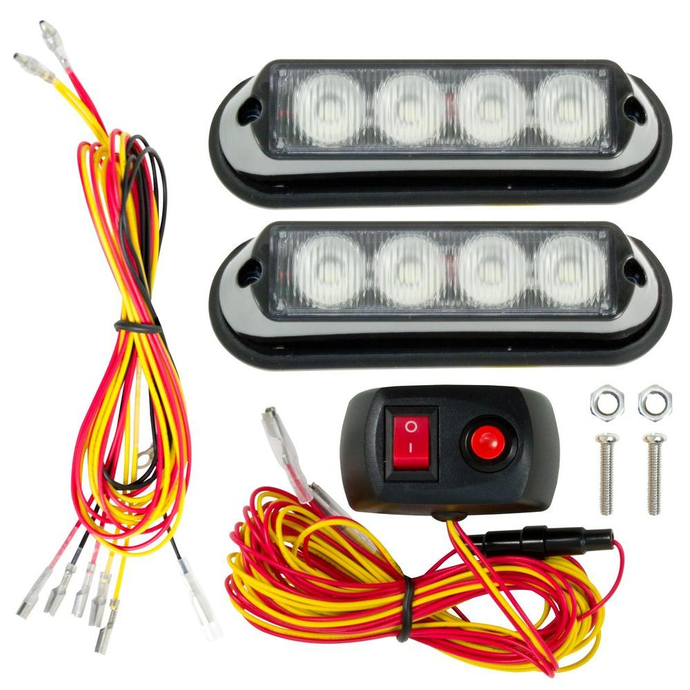 buyers led strobe automotive oval com lights recessed amber products lighting dp amazon light