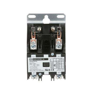 40 Amp 120-Volt AC 2 Pole Open Definite Purpose Contactor (20-Pack)