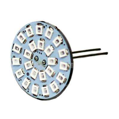 20-Watt Equivalent Wafer Dimmable G4 Back Pin Blue LED Light Bulb