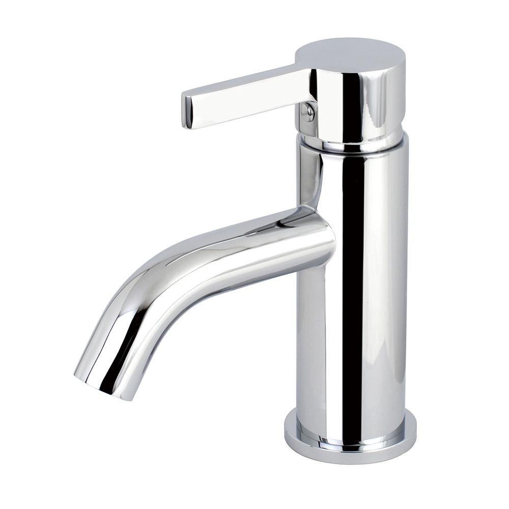 Kingston Brass Simple Single Hole Single Handle Bathroom Faucet In Polished Chrome Hls8221ctl