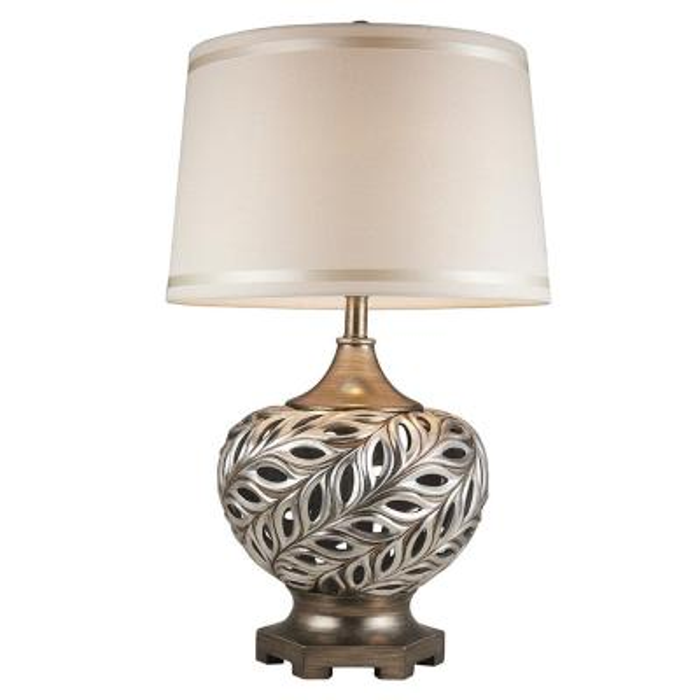 28.75 in. Kiara Silver Table Lamp