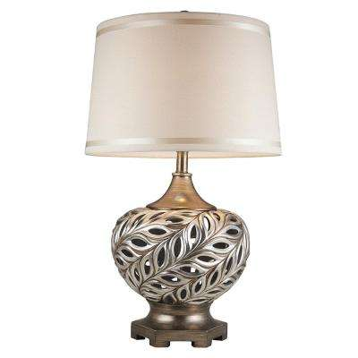 28.75 in. Kiara Silver Table Lamp