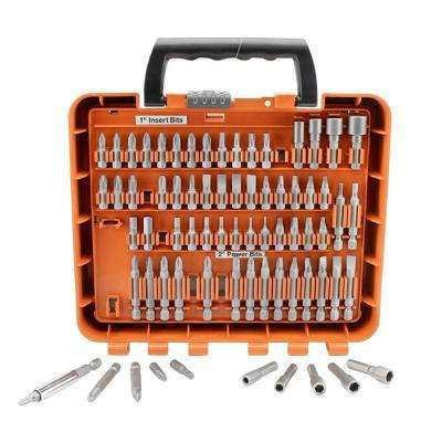 2.11 in. Steel Driving Bit Set (71-Piece)