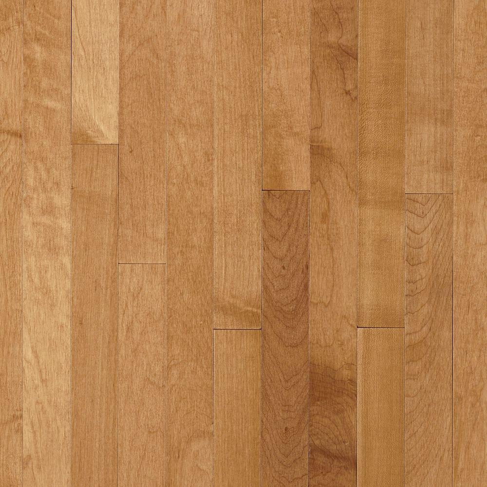 Bruce Take Home Sample - Prestige Maple Caramel Solid Hardwood Flooring - 5 in. x 7 in.
