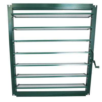 22 in. W x 28 in. H Wall Louver Window