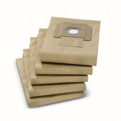 NT 25/1 and NT 35/1 Paper Filter Bags for Wet/Dry Vacuum Accessory (5-Pack)