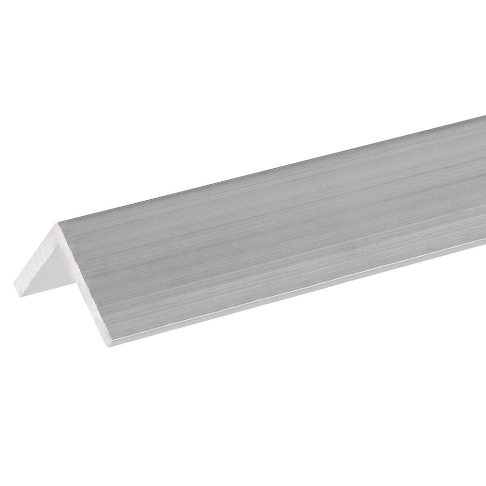 """1//8/"""" Thick 48/"""" Length T6511 Mill Stock 1/"""" x 1/"""" Aluminum Angle 6061"""