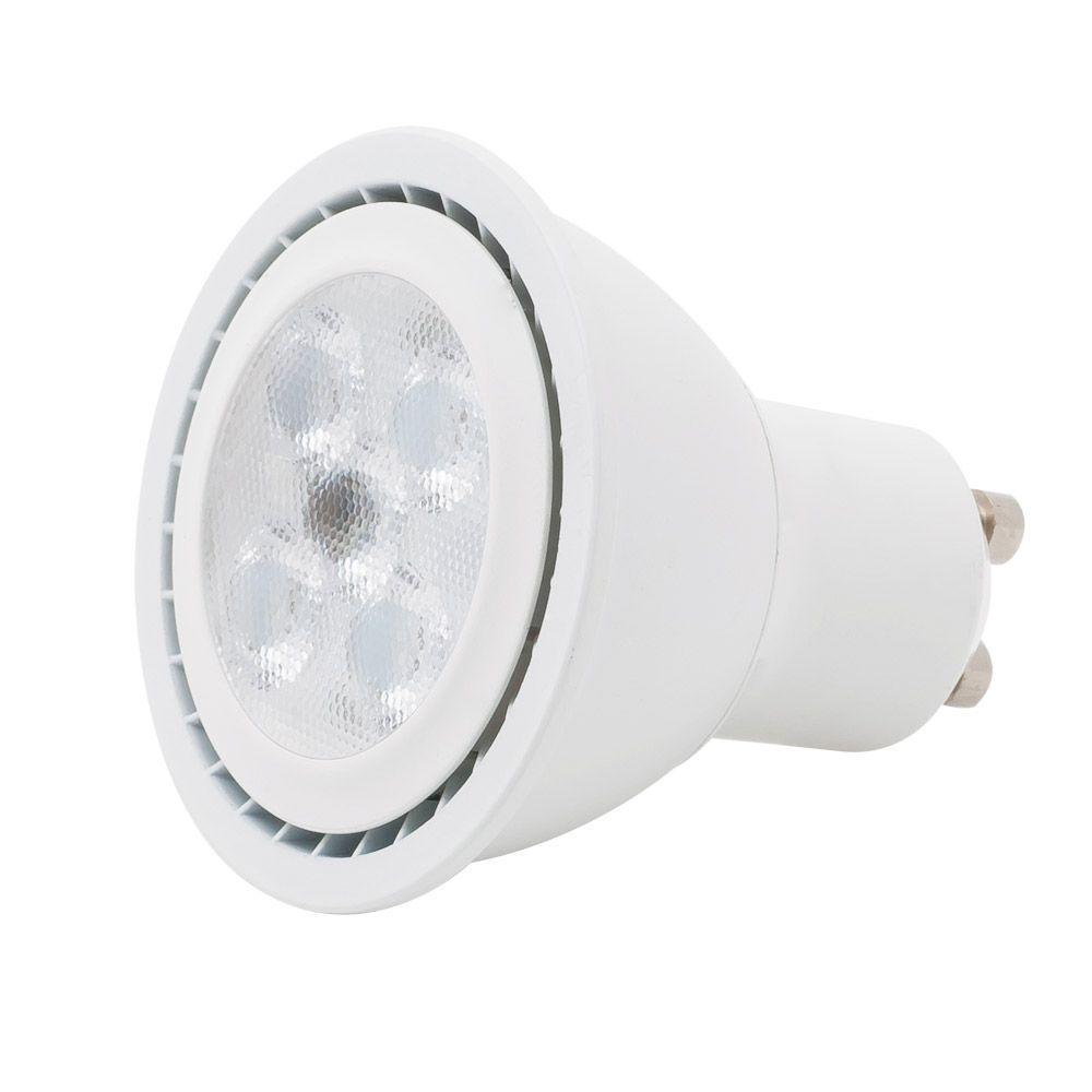 EcoSmart 35-Watt Equivalent MR16 GU10 LED Flood Light Bulb, Soft White-ECS 16 35WE WW FL GU10 ...