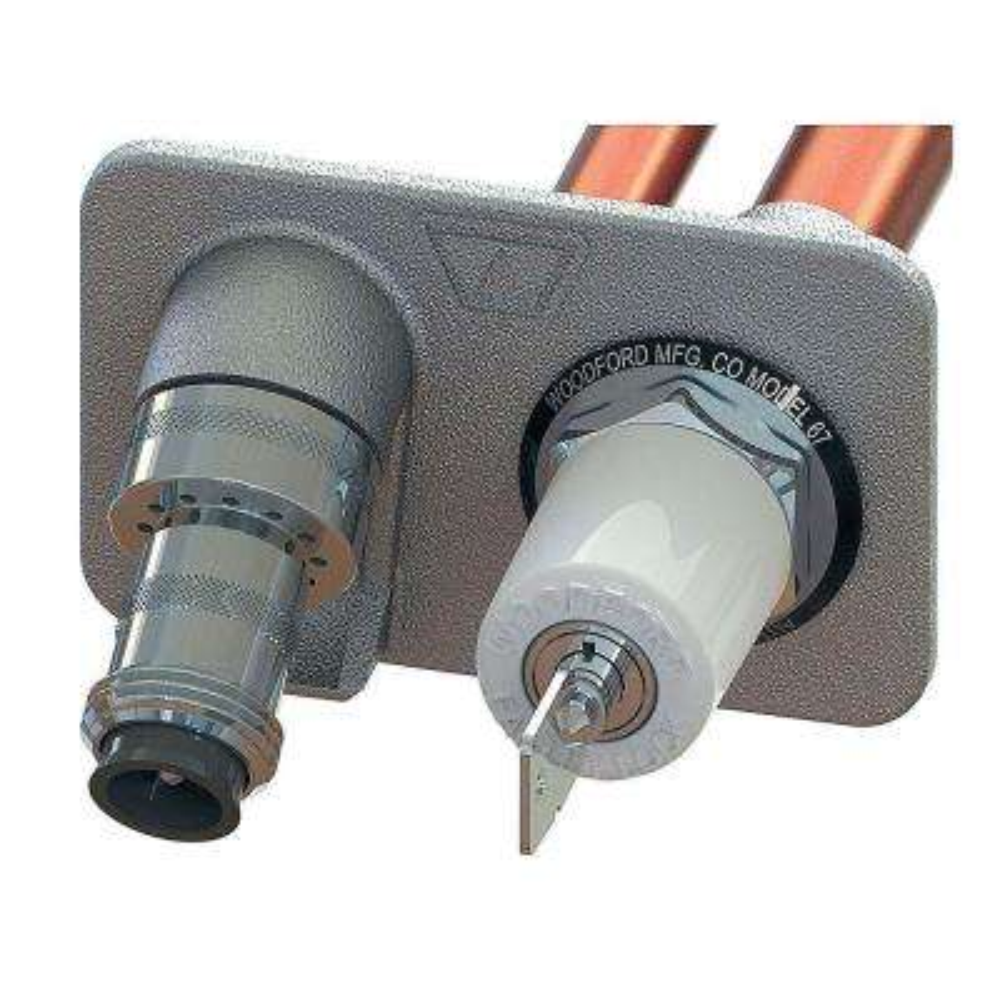Woodford Models 60 and 65 Vandal Resistant Stem Lock 4-Piece Kit