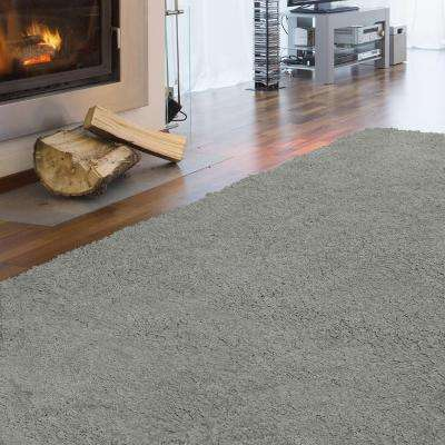 Arctic Shag Grey 4 ft. x 6 ft. Area Rug