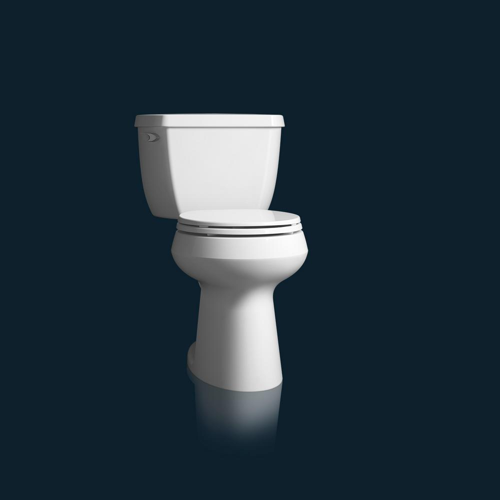 Excellent Kohler Brevia Slow Close Round Closed Front Toilet Seat In White Short Links Chair Design For Home Short Linksinfo
