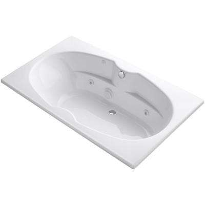 ProFlex 6 ft. Whirlpool Tub in White