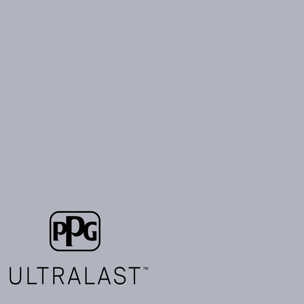 Ppg Ultralast 5 Gal Ppg1043 4 Glistening Gray Matte Interior Paint And Primer Ppg1043 4u 05f The Home Depot