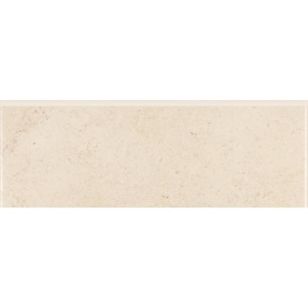 Melbourne Sand 3 in. x 8 in. Ceramic Trim Wall Tile