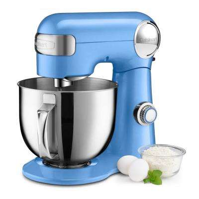 Precision Master 5.5 Qt. Periwinkle Blue Stand Mixer