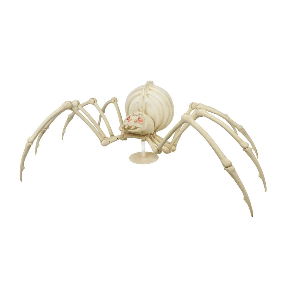 Home accents holiday 17 in animated shaking skeleton for Animated spider halloween decoration