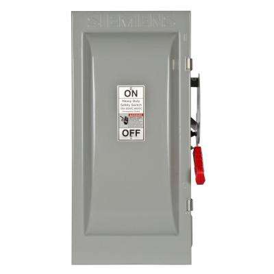 Heavy Duty 100 Amp 600-Volt 2-Pole Type 12 Non-Fusible Safety Switch