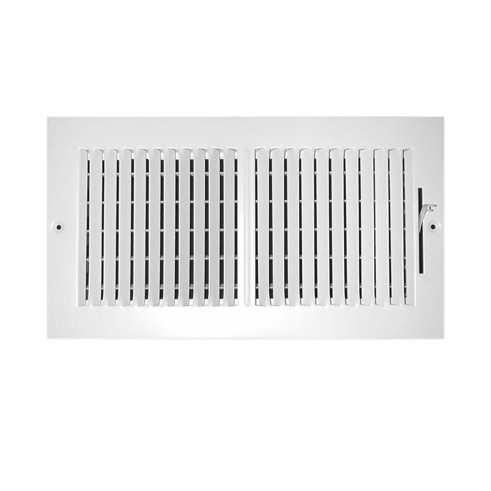 Everbilt 12 in. x 6 in. 2-Way Wall/Ceiling Register