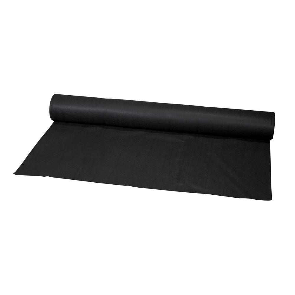 6 ft. x 300 ft. Black Polypropylene Non Woven Filter Fabric