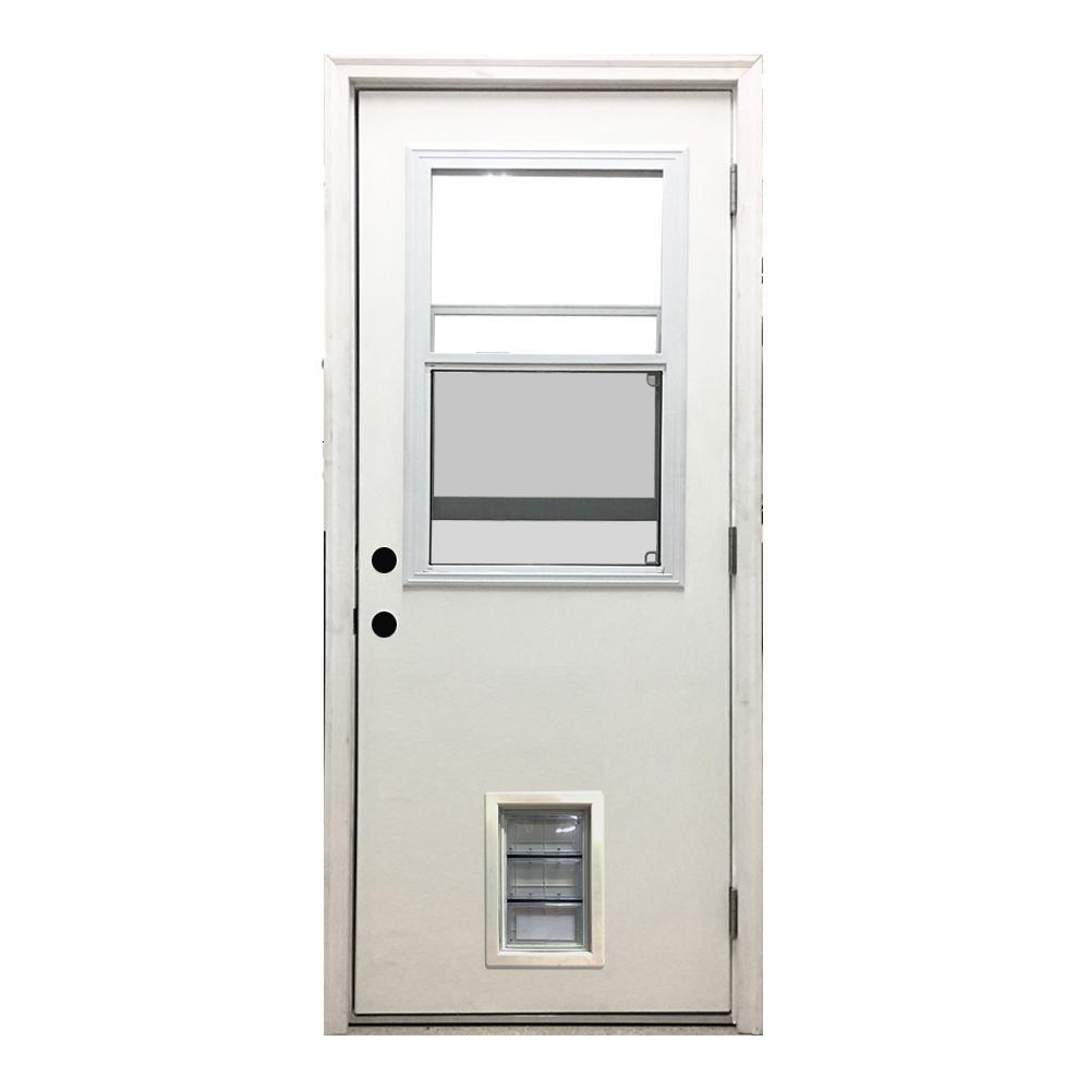Left Hand/Outswing - Front Doors - Exterior Doors - The Home Depot