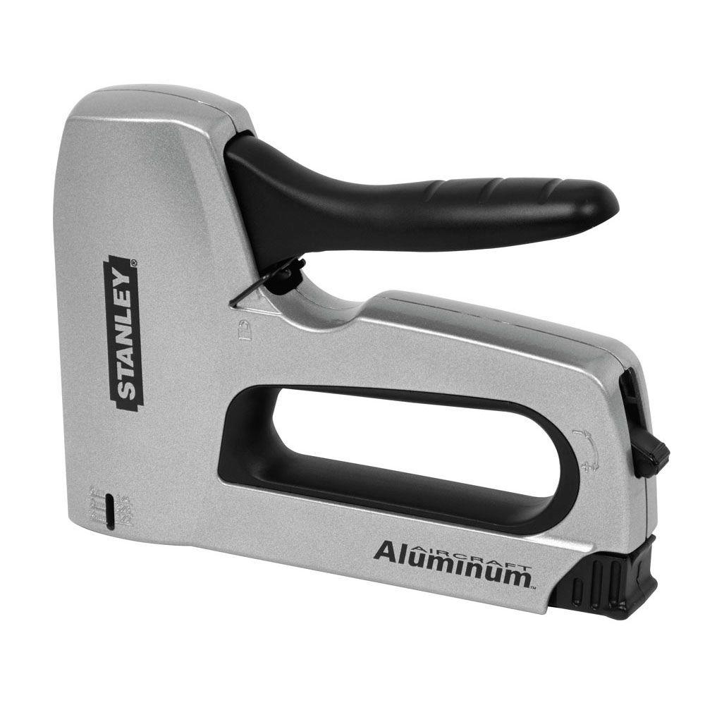 Stanley SharpShooter Heavy-Duty Staple Gun-TR150HL - The Home Depot
