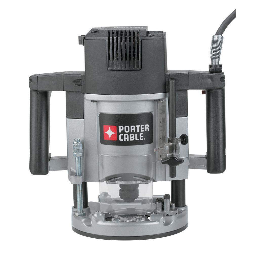 porter-cable 3-1  4 hp five-speed plunge router-7539