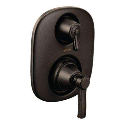 Rothbury 2-Handle MOENtrol Transfer Valve Trim Kit in Oil Rubbed Bronze (Valve Not Included)