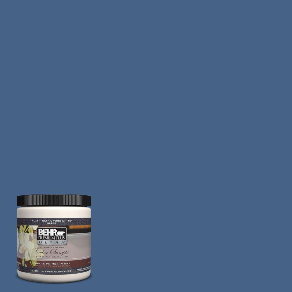 Ul240 21 Mosaic Blue Matte Interior Exterior Paint And Primer In One Sample