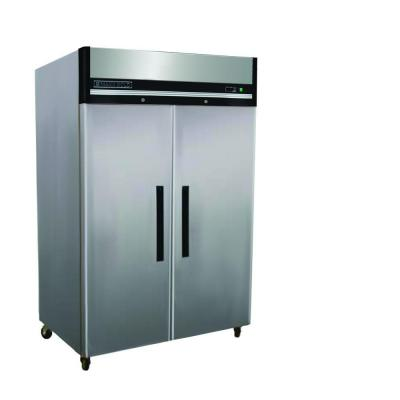 X-Series 49 cu. ft. Double Door Commercial Reach In Upright Freezer in Stainless Steel