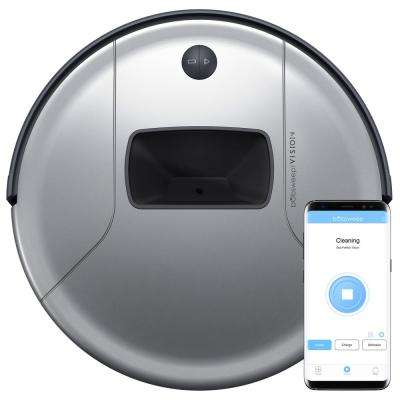 PetHair Vision Robotic Vacuum, Wi-Fi Enabled, Steel