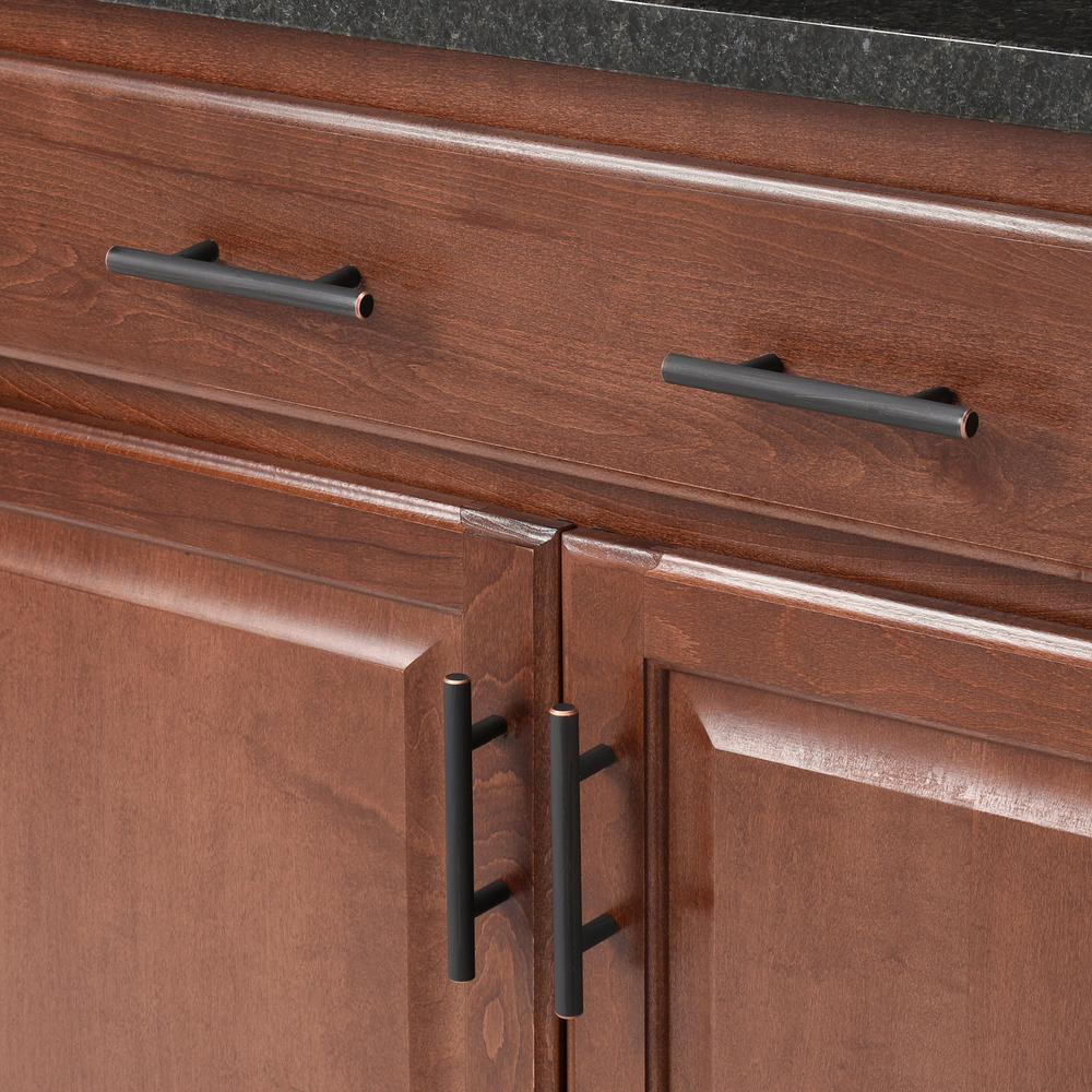 Center Cabinet Amerock BP40515ORB Bar Pulls 3 in. Oil-Rubbed Bronze 76 mm
