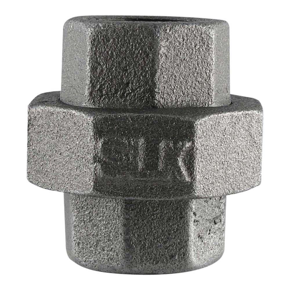 LDR Industries 3/4 in. Black Iron Union