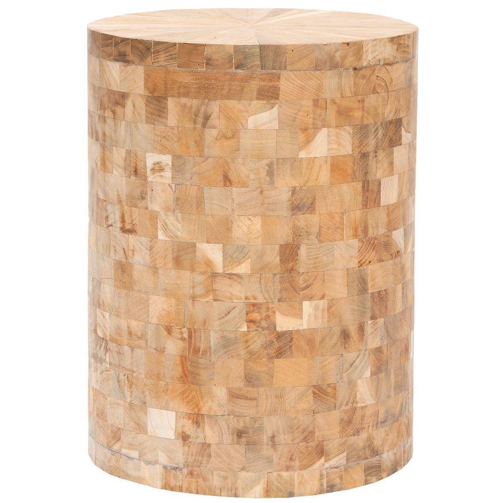 Safavieh Tioga Light Maple End Table
