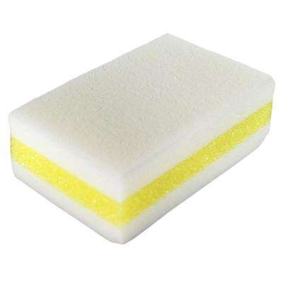 White, Yellow Chemical-Free Sponge