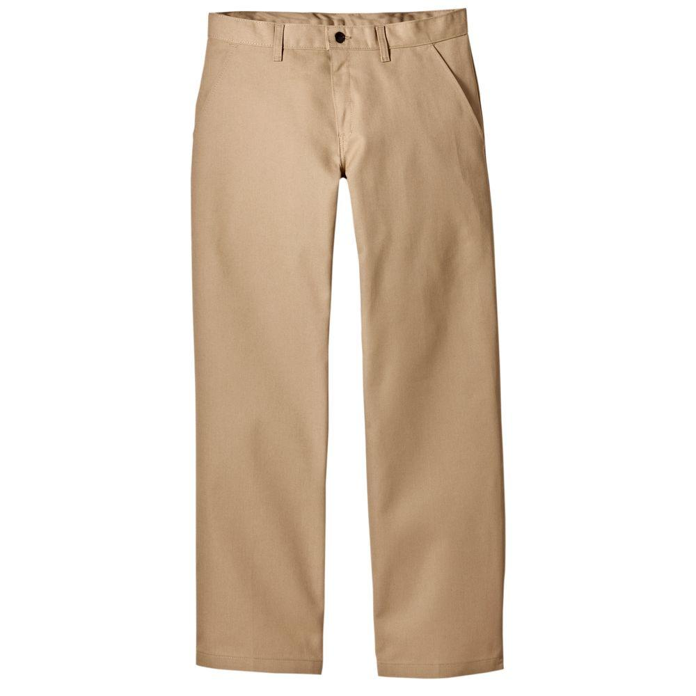 Dickies Relaxed Straight Fit 40 in. x 30 in. Polyester Pant Maple-DISCONTINUED