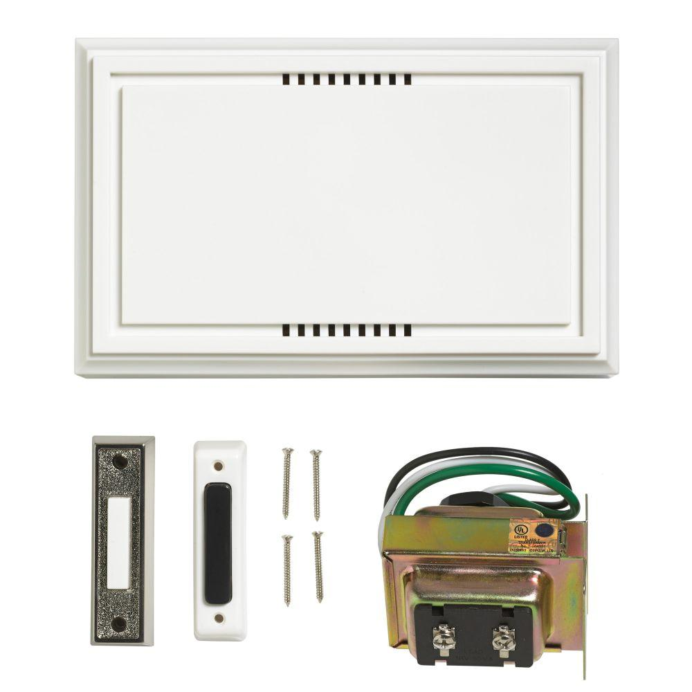 Wired Door Bell Deluxe Contractor Kit  sc 1 st  The Home Depot & Wired Door Bell Deluxe Contractor Kit-216599 - The Home Depot