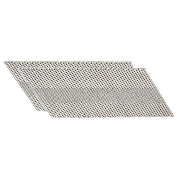 2 in. 15-Gauge 34-Degree Stainless Steel Angle Finish Nails (1,000-Count)