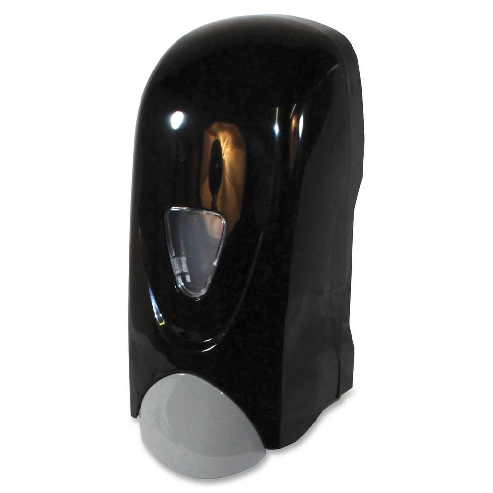 33.8 fl. oz. Refillable Foam Soap Dispenser Manual in Black and